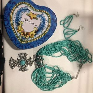 Brighton Set of Necklace & Earrings